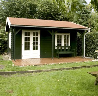 Luxury Malibu Log Cabin