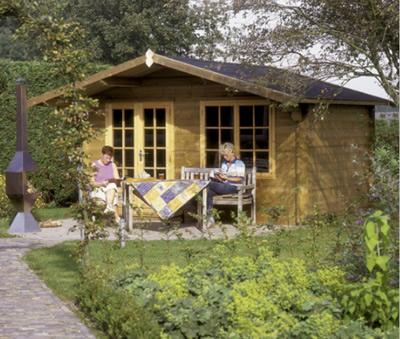 Luxury Odense Log Cabin