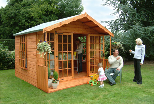 Bedfordshire garden buildings summerhouses bedfordshire for Garden designs with summer houses