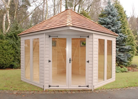 Henley Summerhouse & Summerhouses Log Cabins BBQ Huts Playhouses Bedfordshire ...